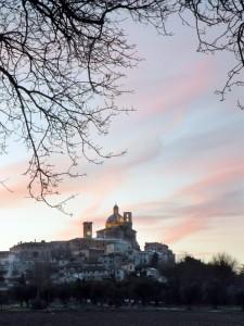 Bel tramonto…