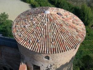 Il tetto del torrione