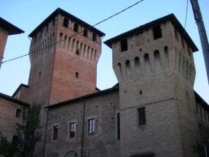 Le torri del castello di Montechiarugolo