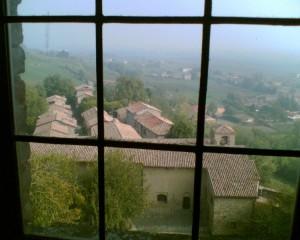 Da una finestra del castello…