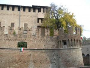 Particolare del castello di Fontanellato