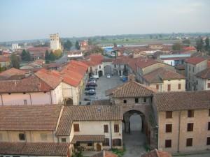 Panorama di Roccabianca