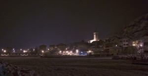 Chambave di notte