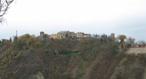 Panorama di Frontino