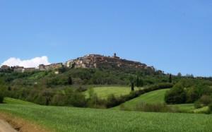 Panorama di Chiusdino