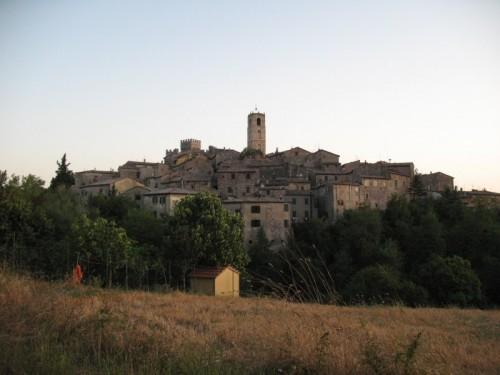 San Casciano dei Bagni - Panorama di San Casciano
