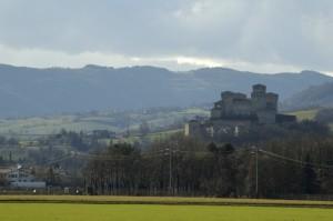 Torrechiara - La maestosità del castello