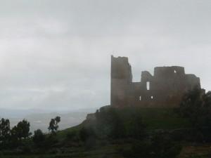 il castello fra la nebbia…