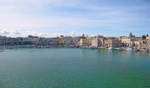 Lo splendido porto di Trani