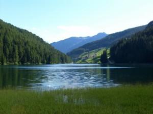 Panorama sul Lago di Valdurna