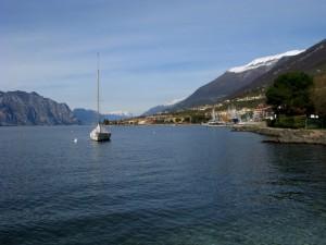 Dove il Lago di Garda diventa più stretto
