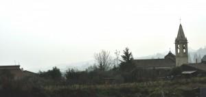 Monterosso, case e chiesa!