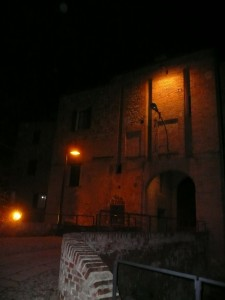 Entrata al Castello di Arceto