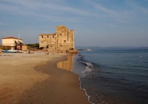 Incantevole castello sul mare