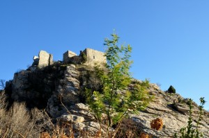 Sulla rocca, il castello