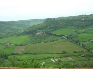 Panorama dalla città