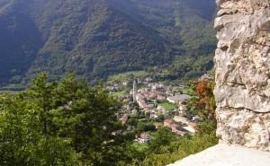 Follina vista da Castelbrando
