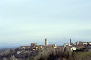 Il paese di Castagnole Monferrato.