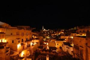 Matera - Panorama città vecchia
