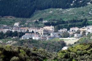 Veduta di Stilo dalla valle dello Stilaro
