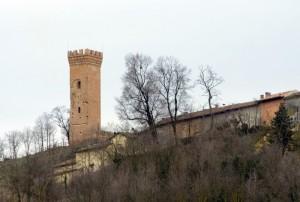 La torre di Viarigi.