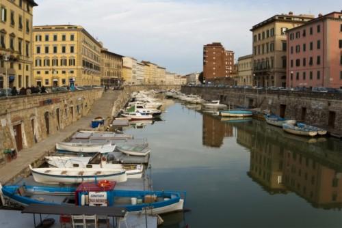 """Livorno - Uno dei """"fossi"""""""
