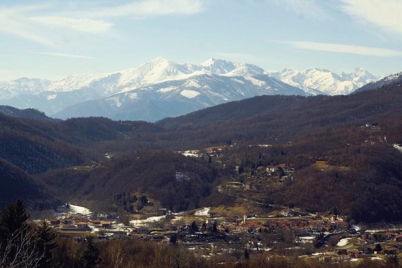 ''Panorami dalla val Chiusella: Issiglio'' - Issiglio