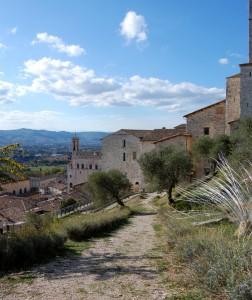Gubbio, panorama 2