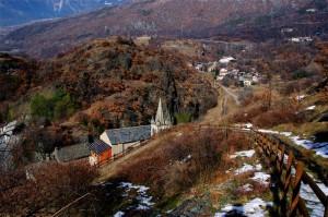 località monjovet …la valle…