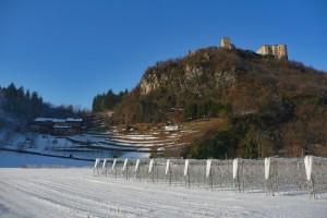 Castel Pergine, da Fontanabotte