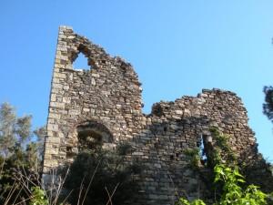 i ruderi del castello