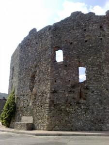 Castello dei Del Carretto visto da fuori