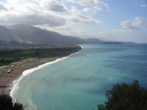 Una delle spiaggie di Maratea