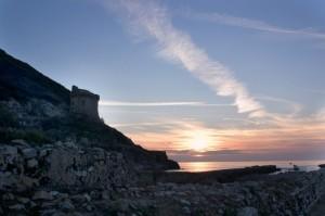 Torre Paola al tramonto