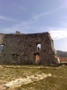 Castello dei Del Carretto visto da dentro