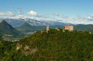 Castel Pergine. Non sembra neanche autunno.