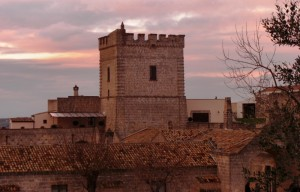 Torre Spagnola al tramonto