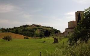 Montalcino - Castelnuovo dell'Abate e l'Abbazia