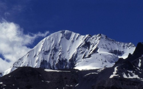 Stelvio - Gran Zebrù - Una foto storica