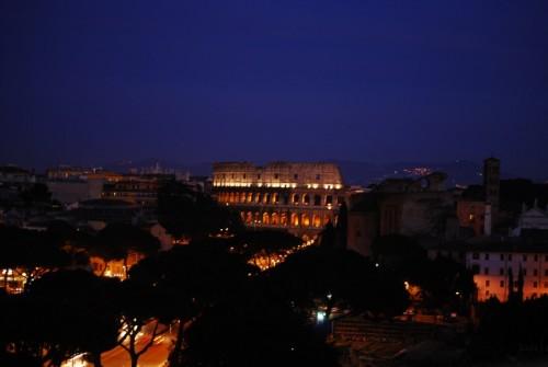 Roma - verso il colosseo