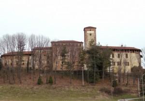 Massazza, un  castello in Baraggia
