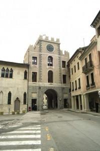Porta meridionale citta  storica di serravalle
