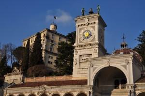 Il Castello di Udine visto da Piazza Libertà
