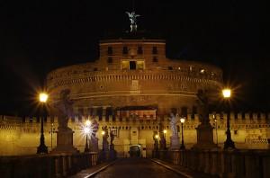Castel Sant'Angelo visto cosi è imponente