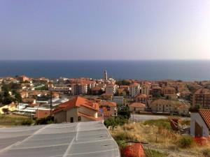 Riva Ligure vista dall'alto