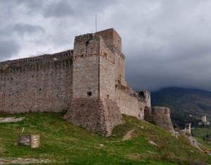Assisi: La rocca maggiore - primo piano [2]