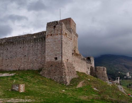 Assisi - Assisi: La rocca maggiore - primo piano [2]