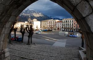 la storica piazza