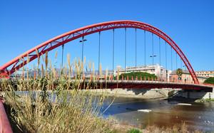 Ponte Libero Emidio Viveri sul fiume Centa