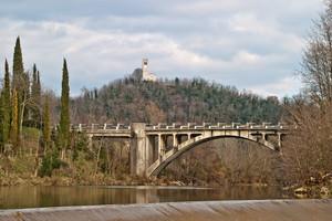 Ponte dove iniziò la 1^ guerra mondiale